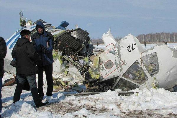 Ан-72 Пограничной службы КНБ РК, потерпевший крушение в декабре 2012 года близ Шымкента