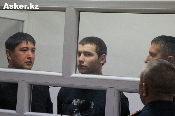 Владислав Челах в зале суда