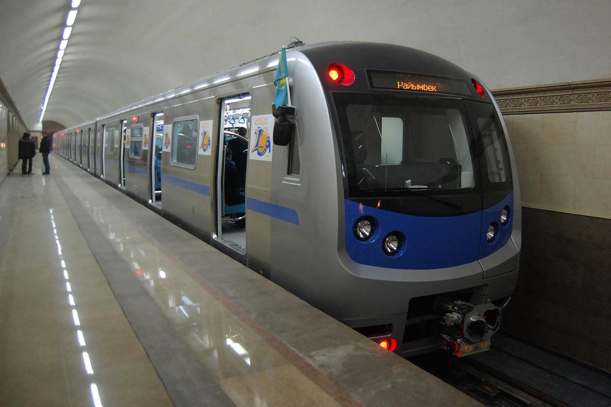 Спустя 23 года после начала строительства, в Алматы открылось метро.