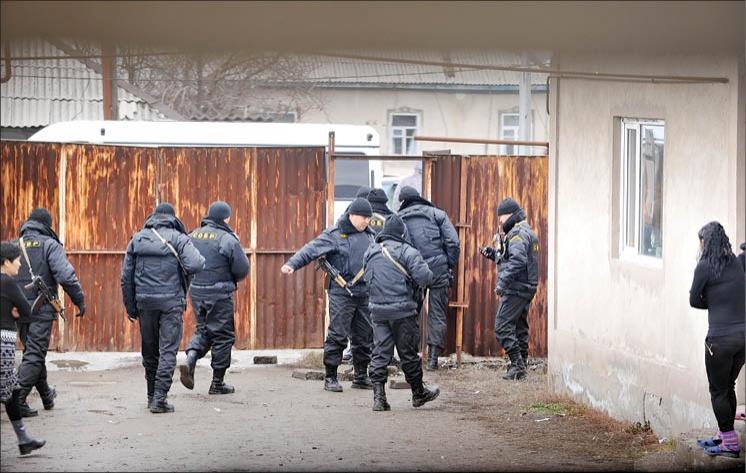 Во время спецоперации по захвату террористов 3 декабря 2011 года в Боралдае