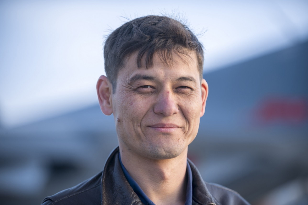 Командир эскадрильи майор Аслан Кулбасов