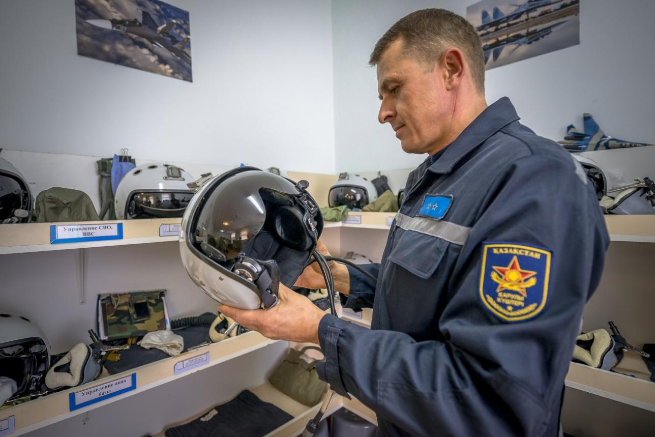 Помещение высотного оборудования и снаряжения