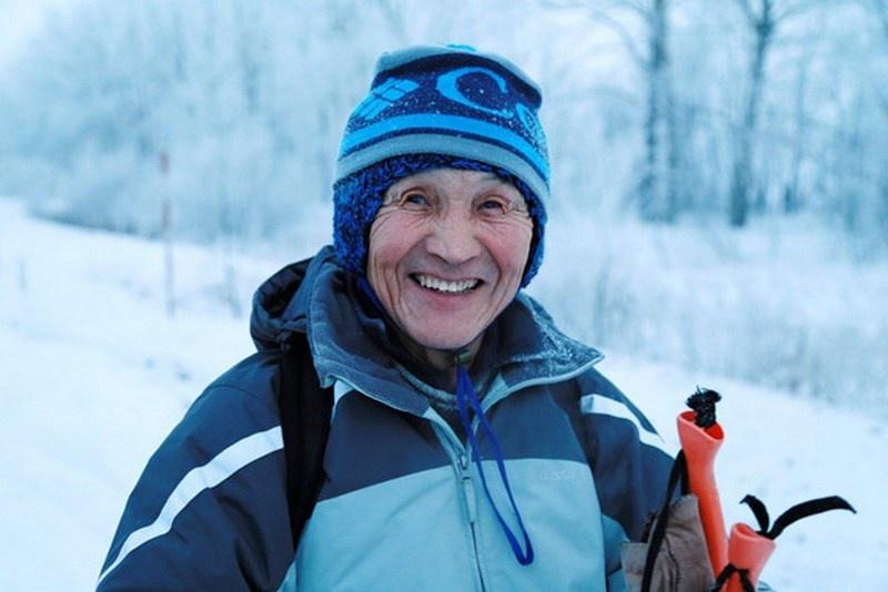Мухамедкали Аскаров один пройдёт на лыжах более 100 км