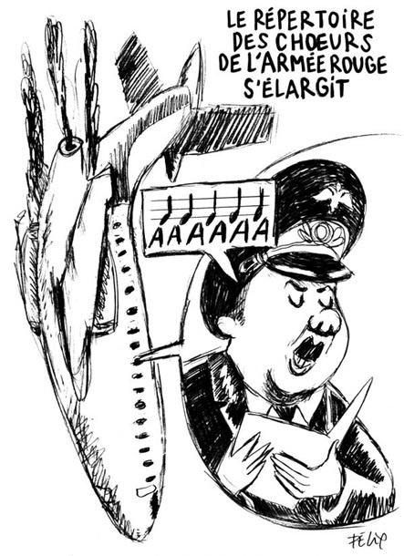 Карикатура на падение Ту-154