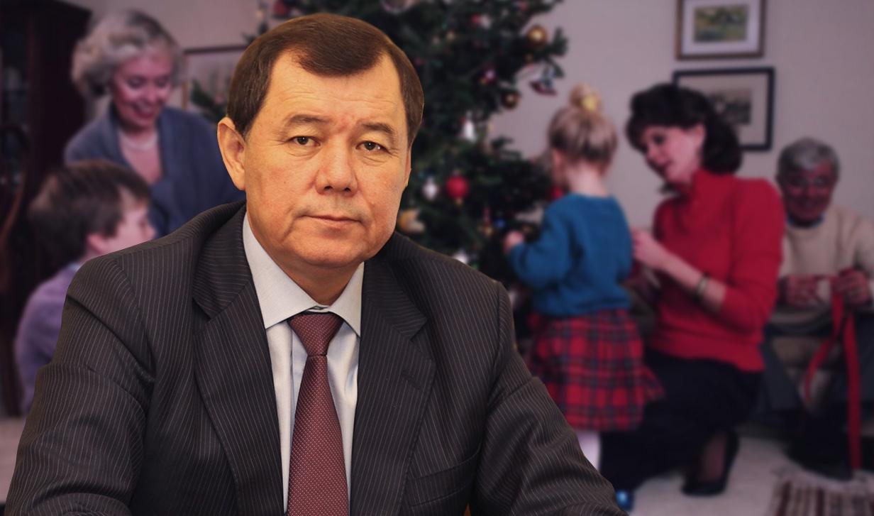 Благополучие и здоровье - главное желание Карима Кокрекбаева в грядущемг оду