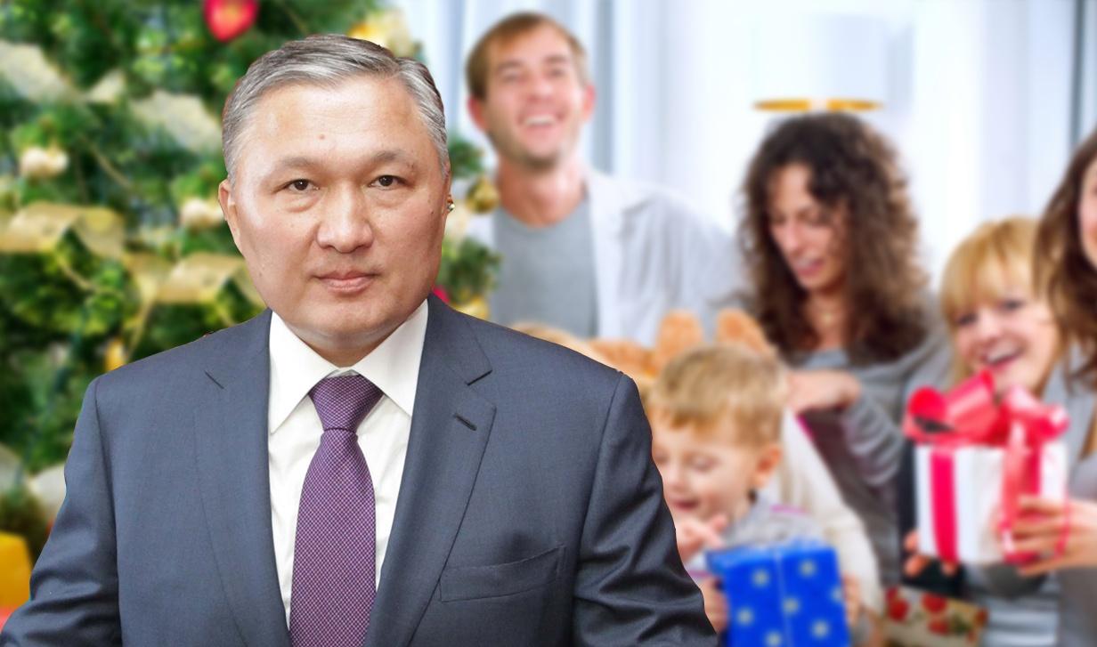 Нурмухамбет Абдибеков также отметил, что семья - самое важное для него