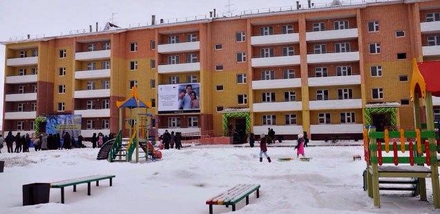 Шесть многоэтажек ввели в эксплуатацию в Уральске