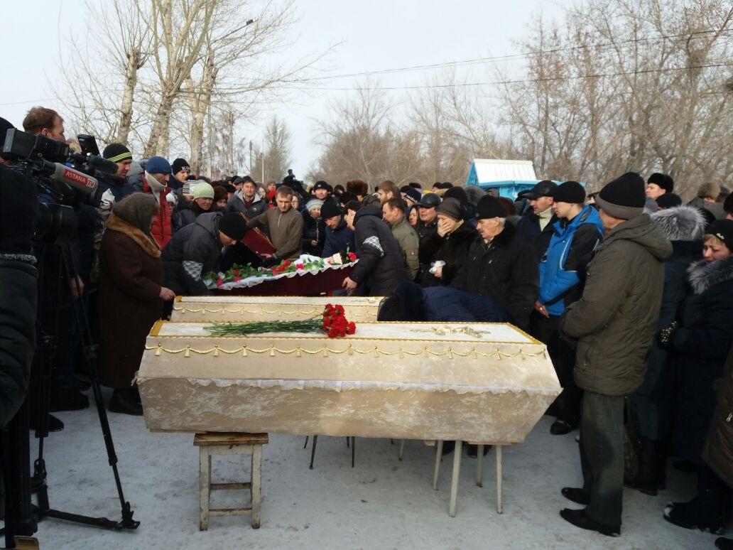 Погибших похоронили в родном селе