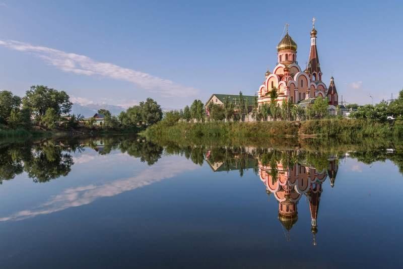 Церковь в Алматы
