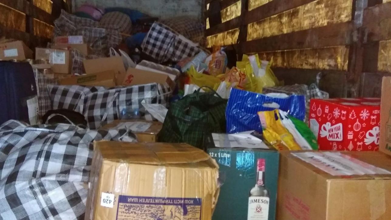 Астанчане отправили в Шахан гуманитарная помощь