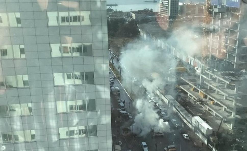 Взрыв в Измире у здания суда