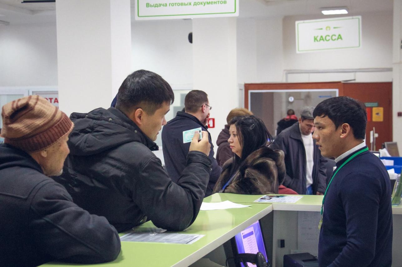 Алматинцы спешат зарегистрироваться