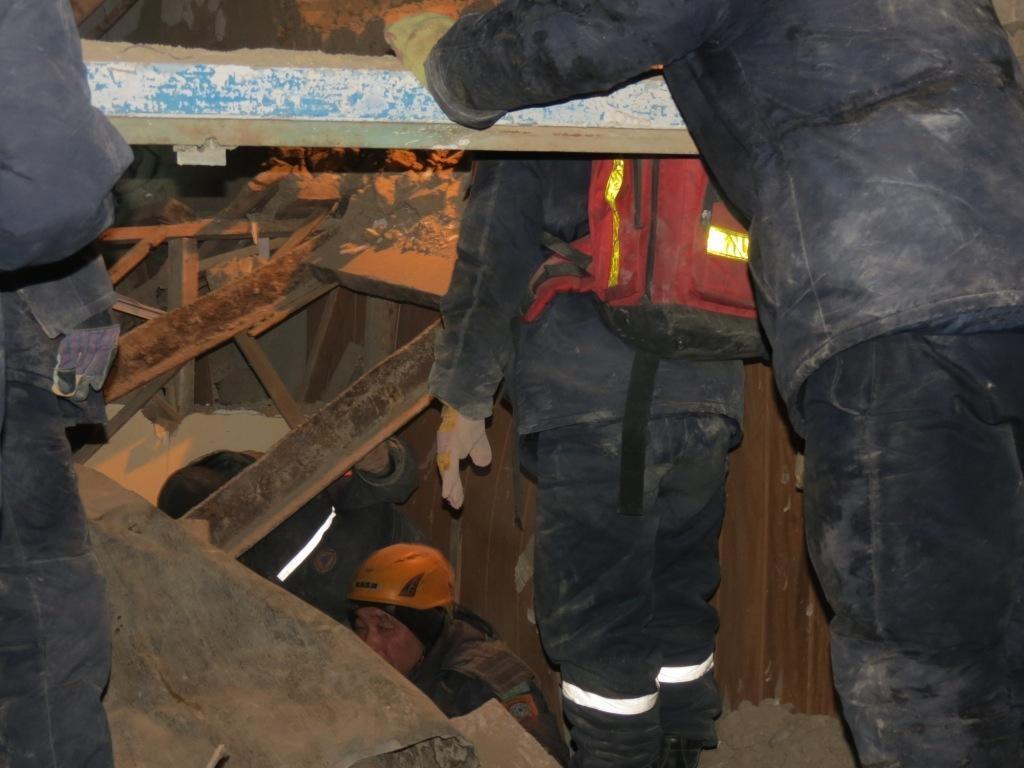 В результате взрыва газа погибла женщина