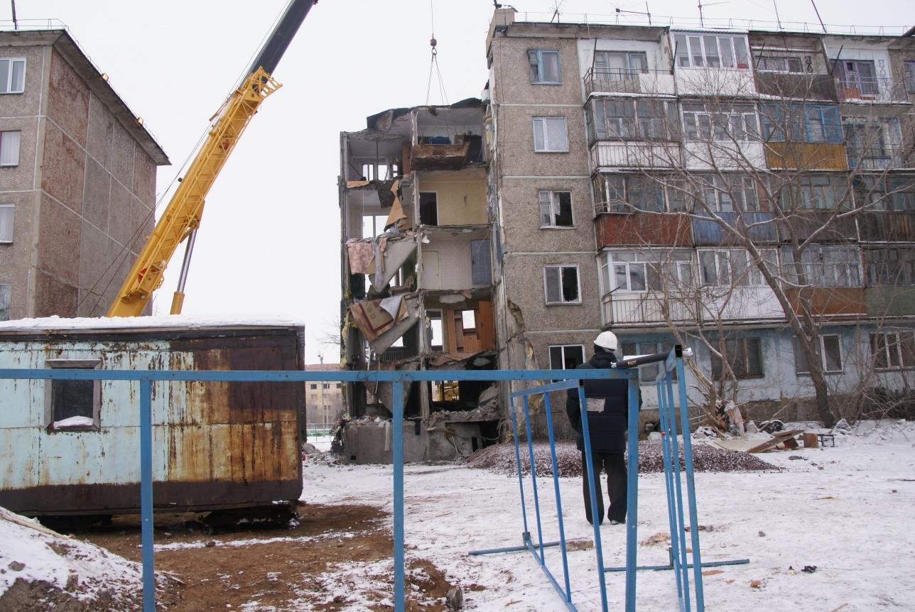 Дом постепенно восстанавливают