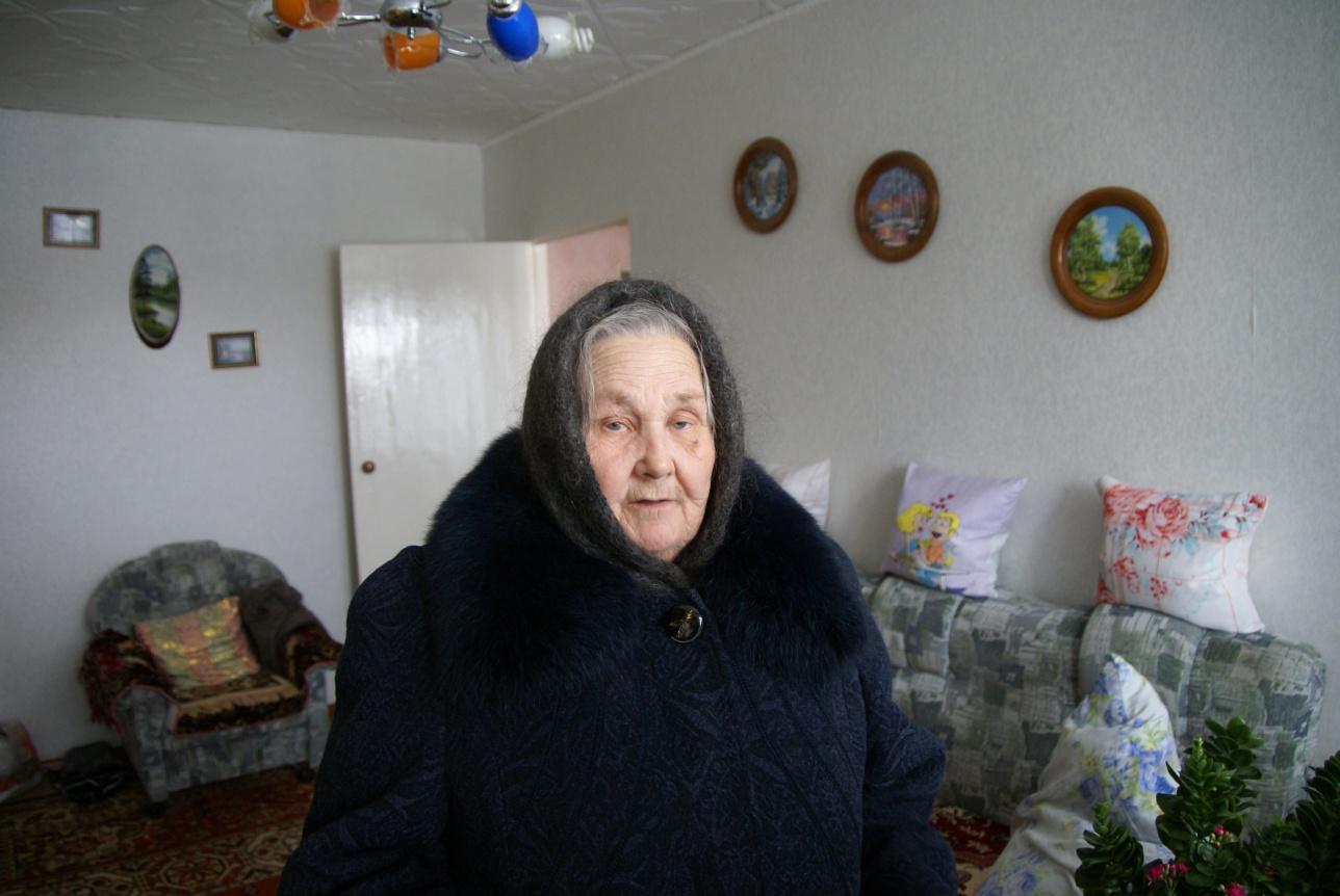 Нина Алимова верит, что дом прочный