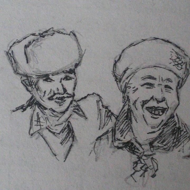 Карикатуры Мухтара пользуются успехом