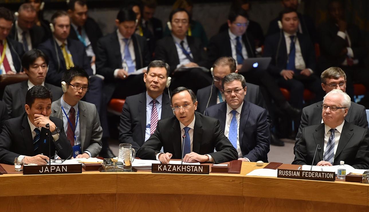 Кайрат Абдрахманов озвучил обращение Нурсултана Назарбаева