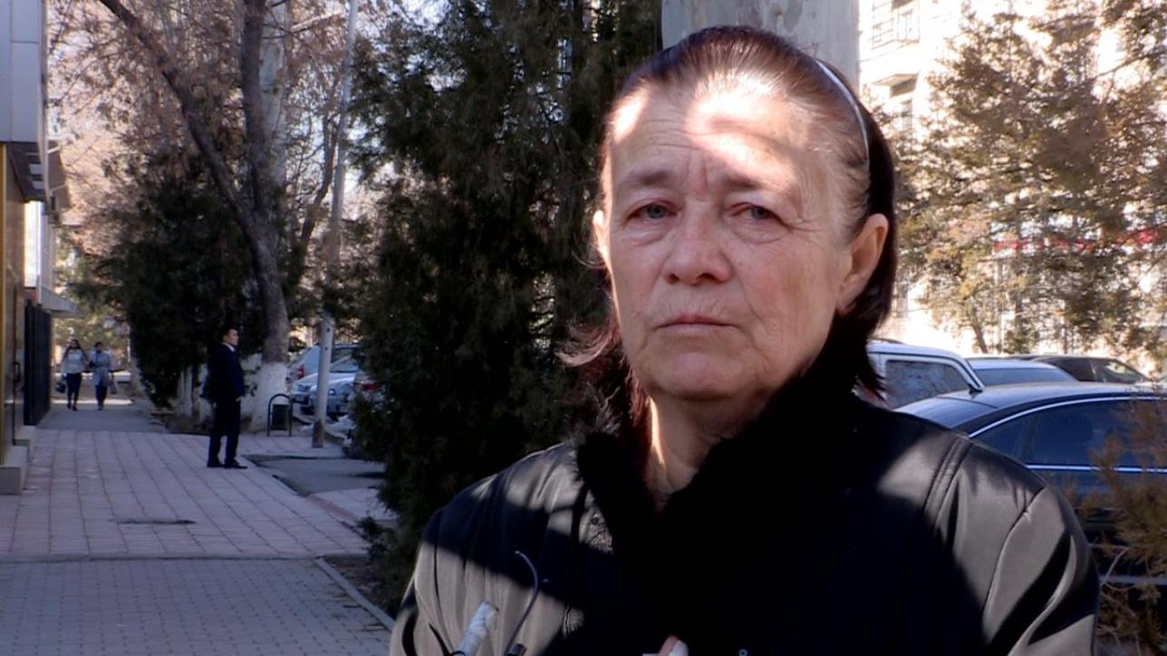 Мать подсудимого Клара Удербаева