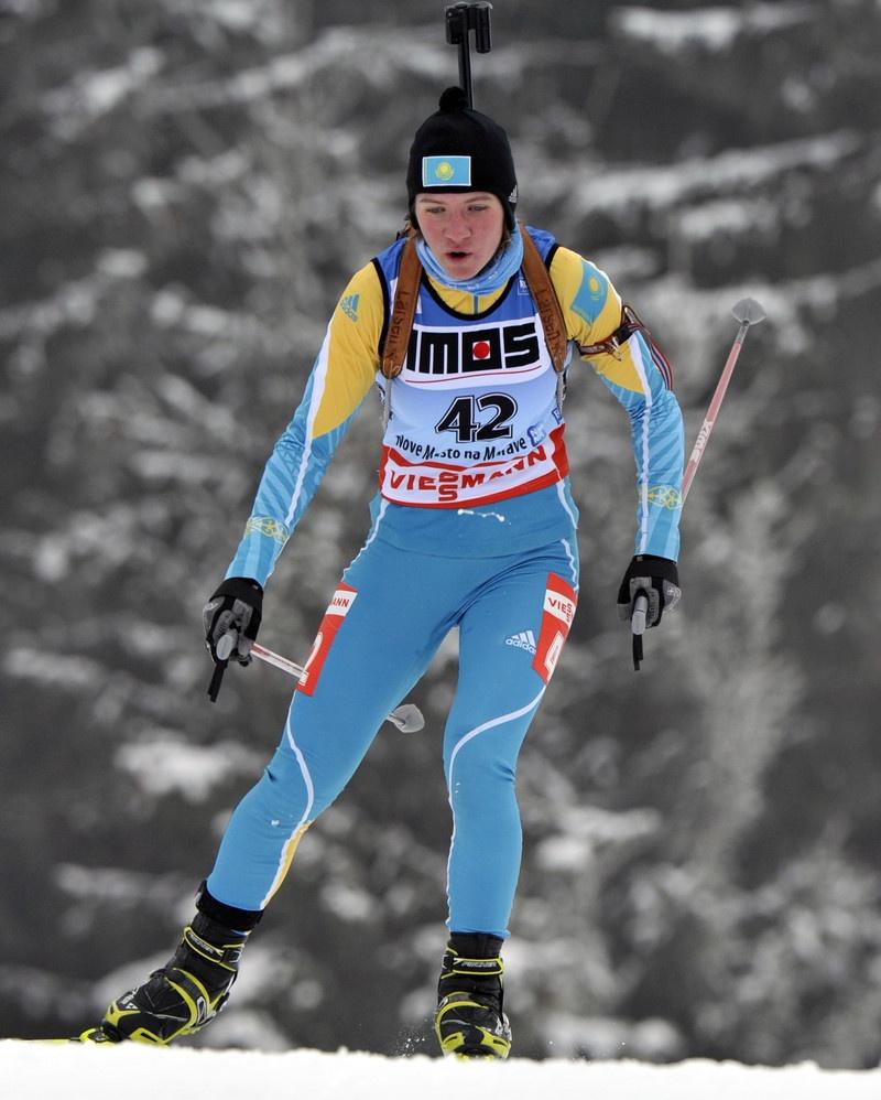 Галину Вишневскую уже давно считают восходящей звездой мирового биатлона
