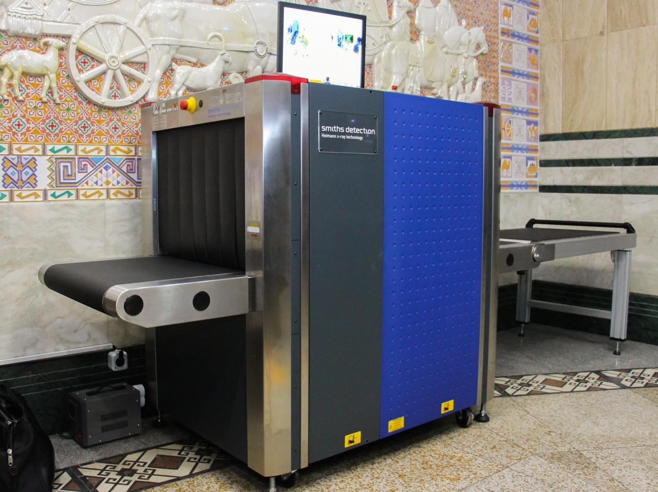 Рентген-установки появились в метро Алматы с ноября 2015 года