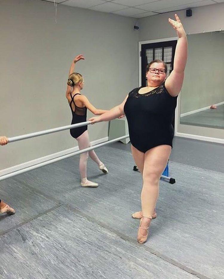 Американская балерина во всей красе