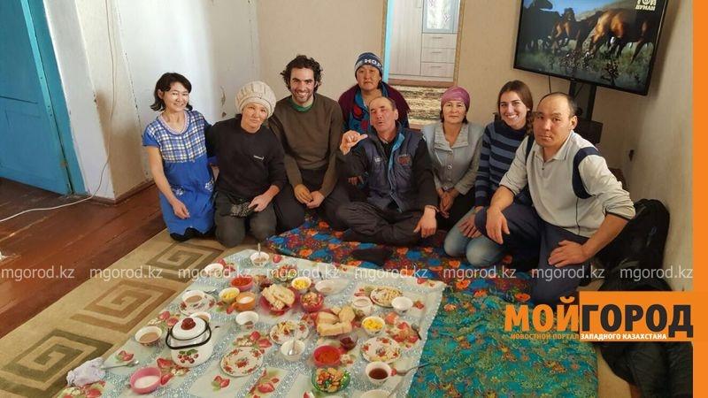 В гостях у казахской семьи