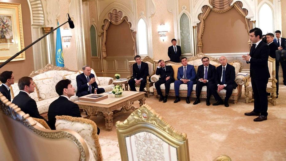 Встреча с исполнительным директором компании Calatrava Grace