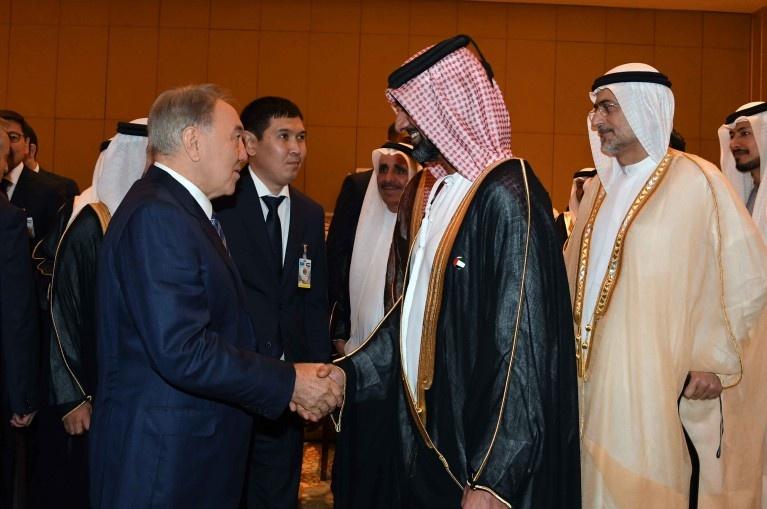 Встреча с представителями деловых кругов Объединенных Арабских Эмиратов