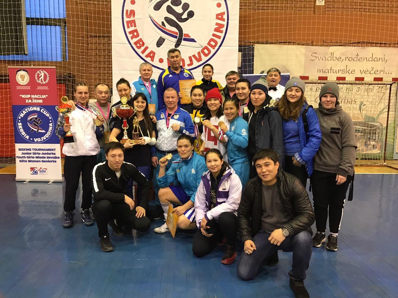 Женская сборная Казахстана по боксу