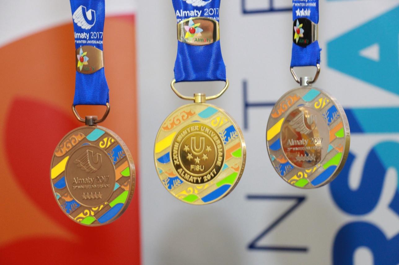 Так выглядят медали Универсиады-2017