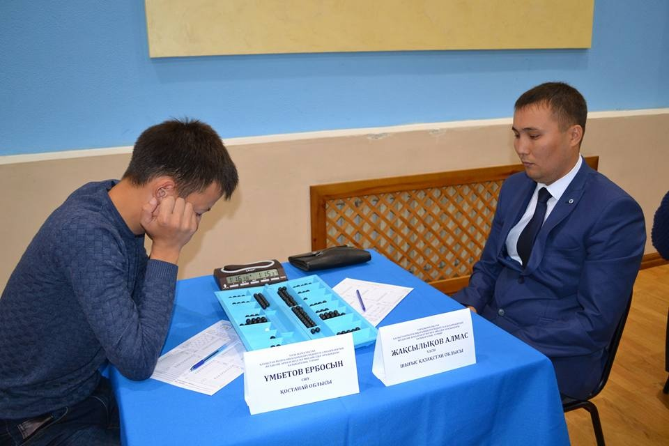 Чемпион РК и Средней Азии по тогызкумалак Алмаз Жаксылыков