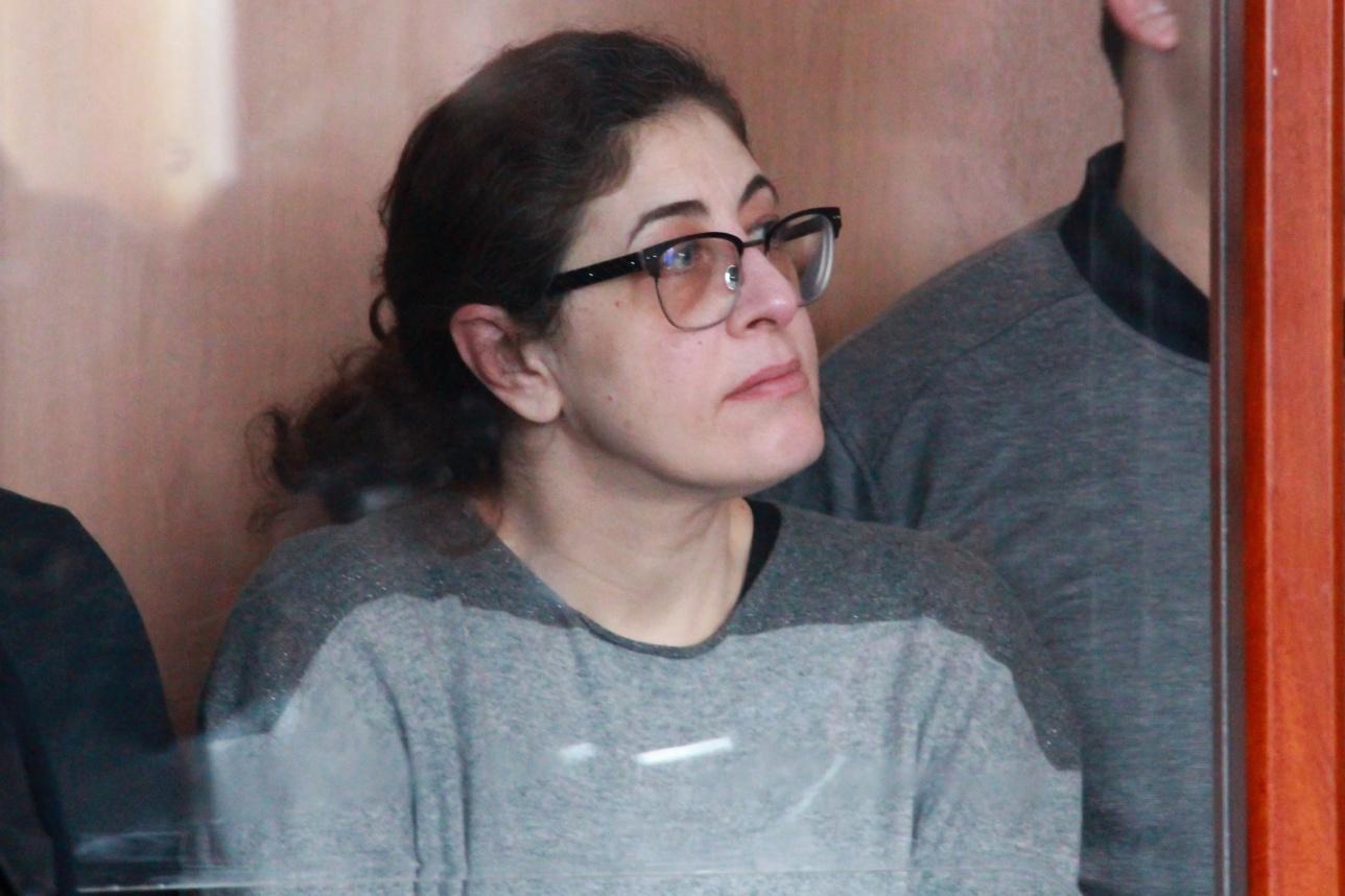 Мири Паз в зале суда. 18 января 2017 года