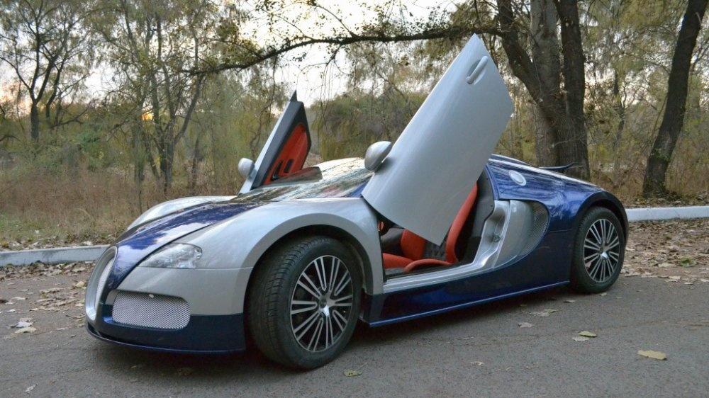 Спорткар - копия Bugatti Veyron