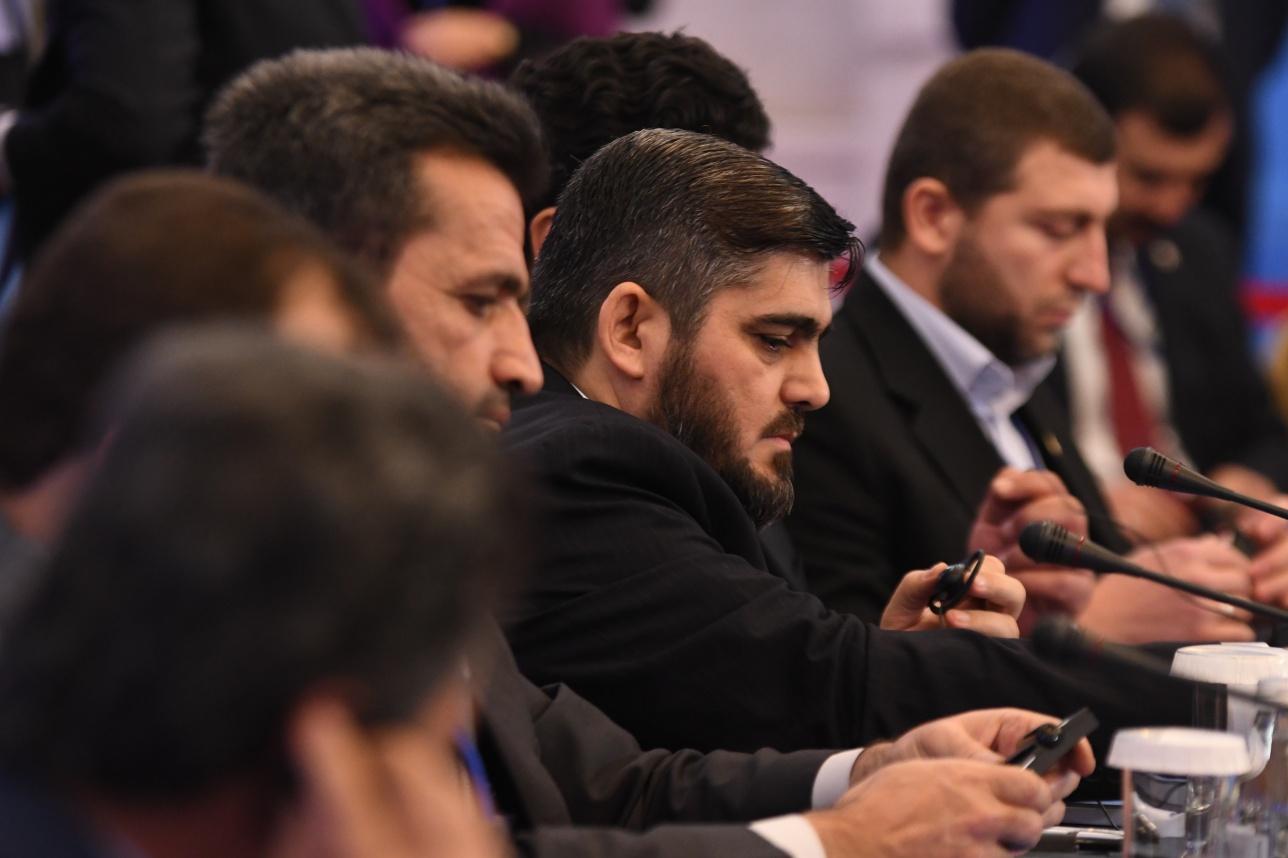 Мухаммад Аллуш - главный переговорщик от сирийской оппозиции