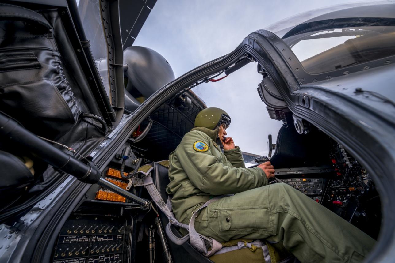 Вертолёты прибыли в Казахстан
