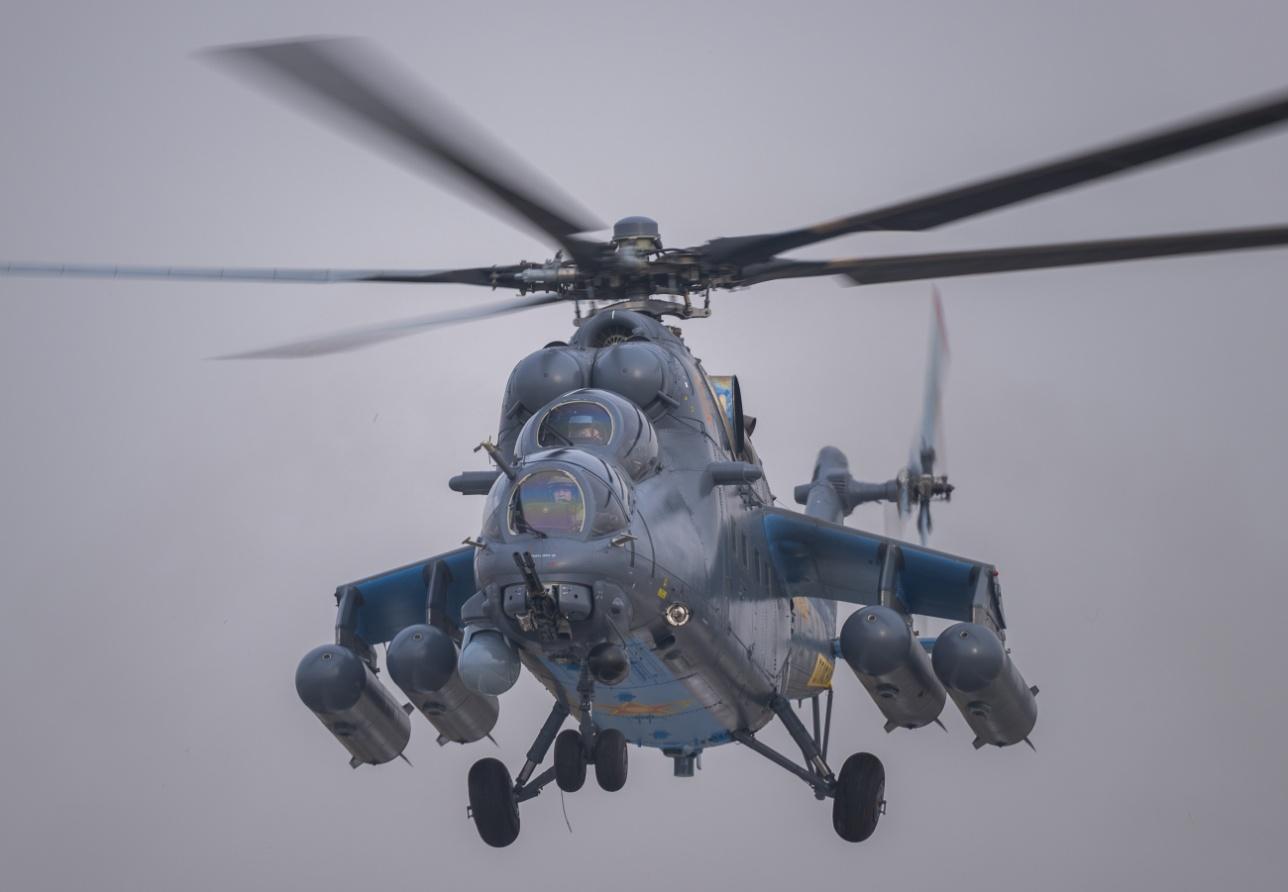 Новый вертолёт
