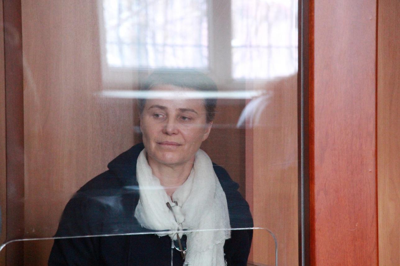 Лилия Рах в зале суда
