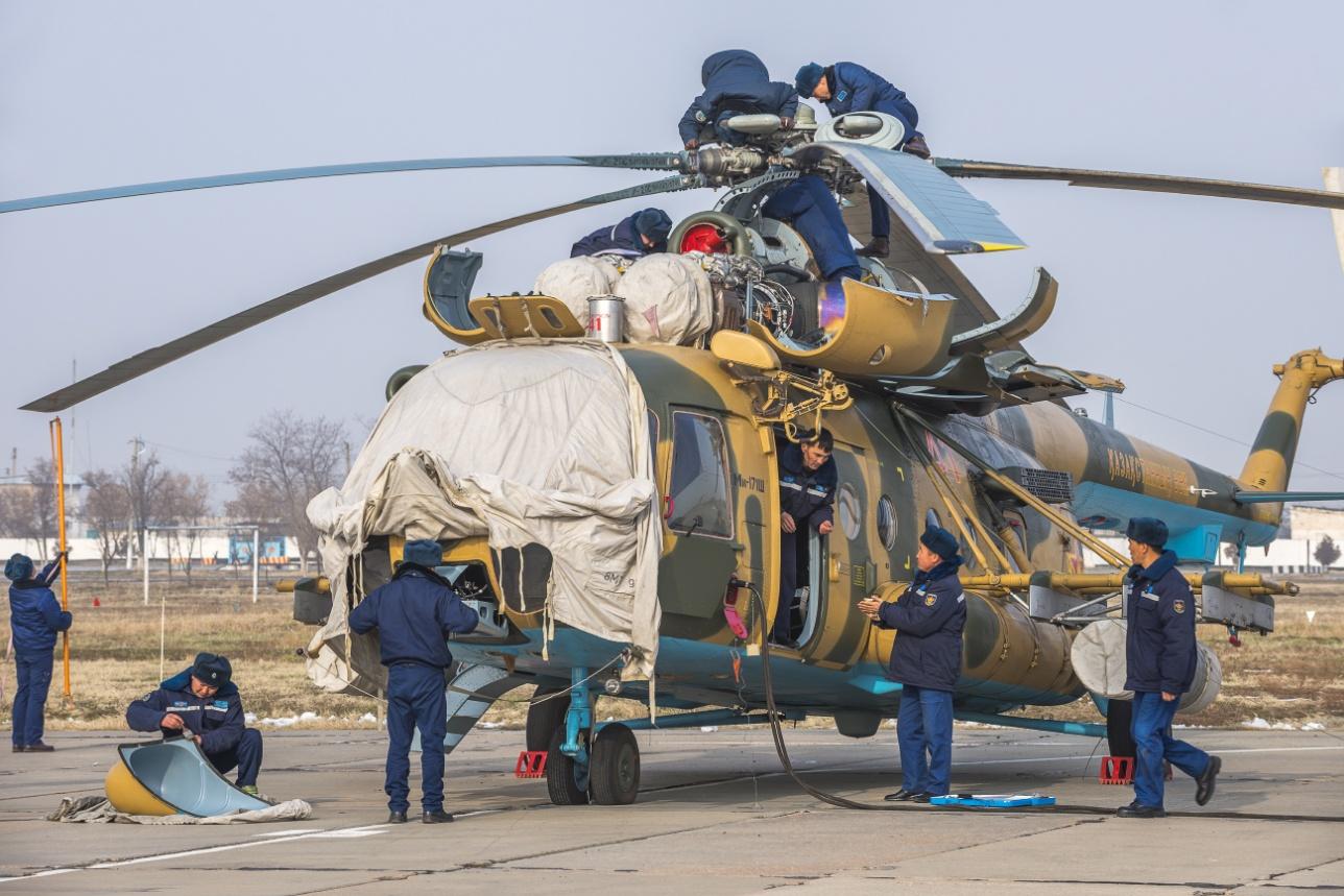 Техобслуживание Ми-171 Ш