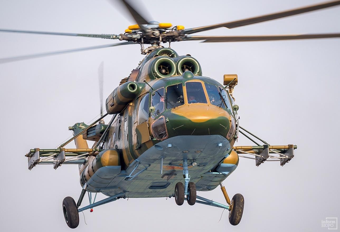 Транспортно-боевой вертолёт Ми-17