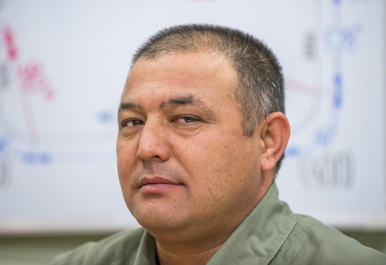 Уйгун Хамидов, командир авиаэскадрильи армейской авиации, майор