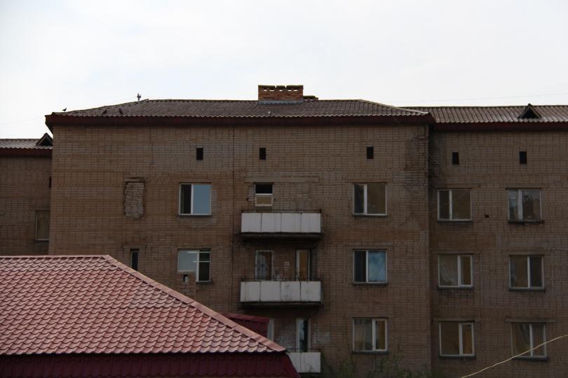 С окна противотуберкулёзного диспансера была сделана видеозапись происшествия
