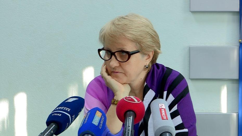 Председатель общественной организации Лариса Харькова