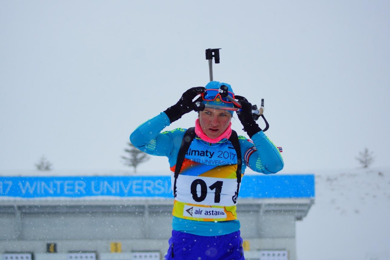 Галина Вишневская на Универсиаде в Алматы выиграла уже серебро и золото