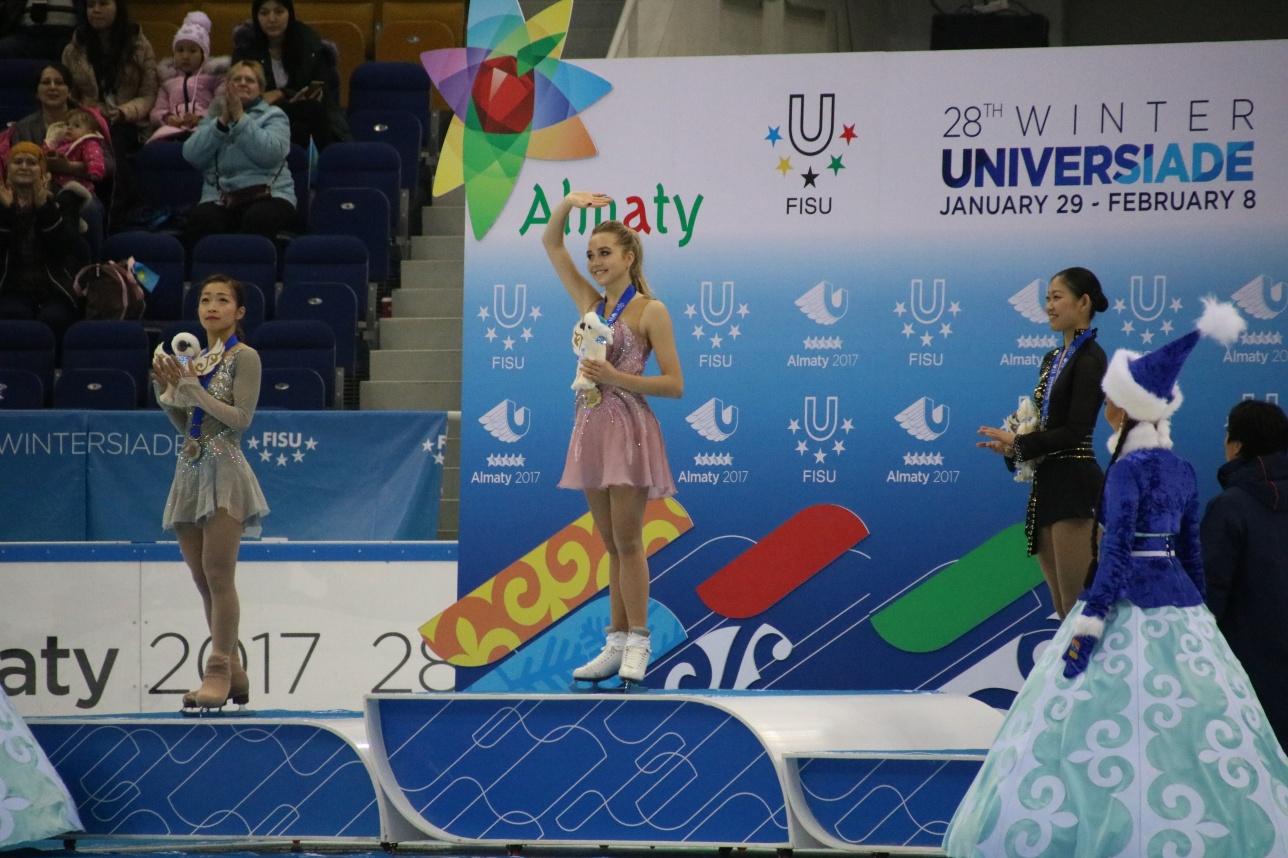 Триумф Елены Радионовой в Алматы