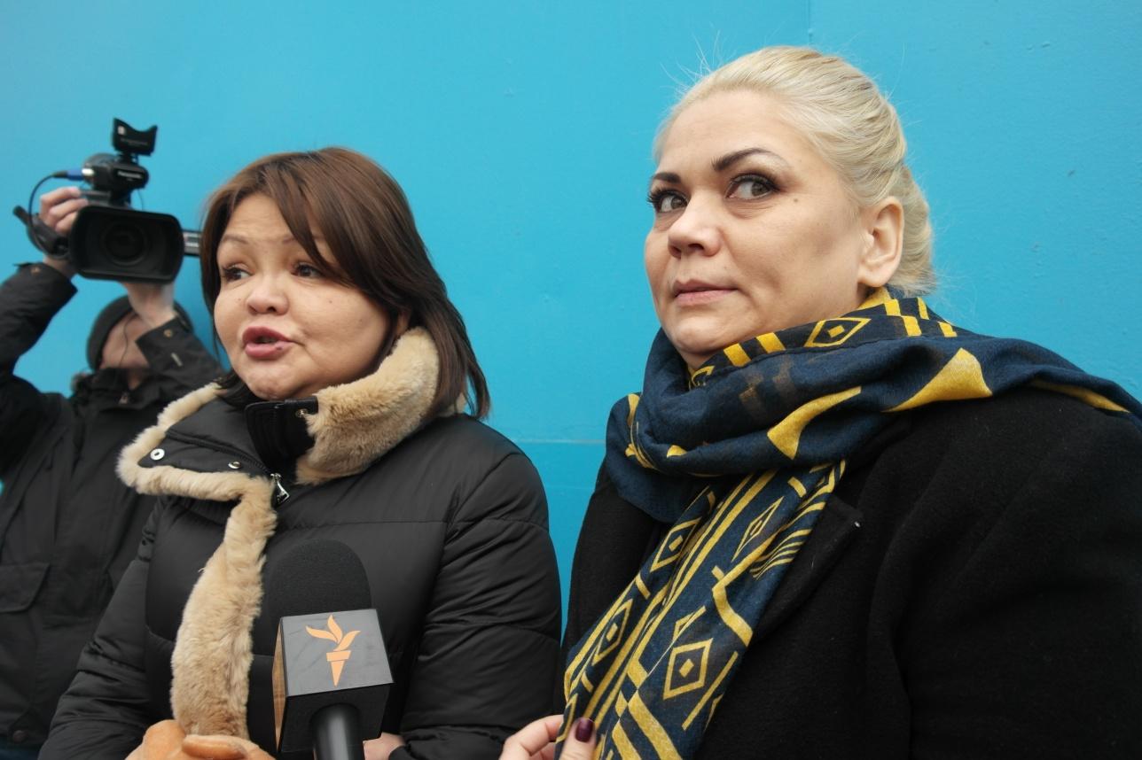 Наталья Слекишина и Айман Умарова
