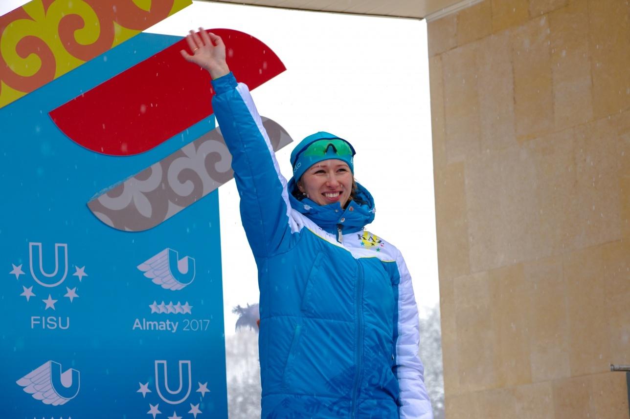 Екатерина Айдова возвращается в Караганду не с пустыми руками