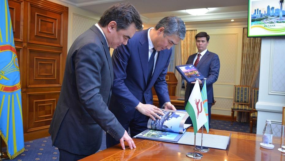 Меморандум о побратимстве Астаны и Уфы подписали 3 февраля