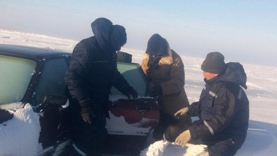 Рыбаков нашли только на следующий день