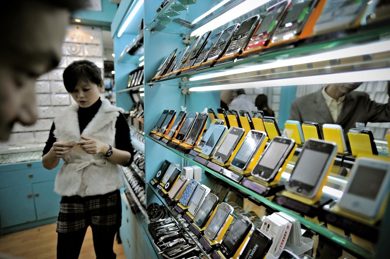 Рынок смартфонов в КНР