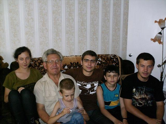 Семья Шишиных